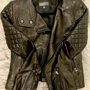 Mackage for Aritzia Leather Jacket